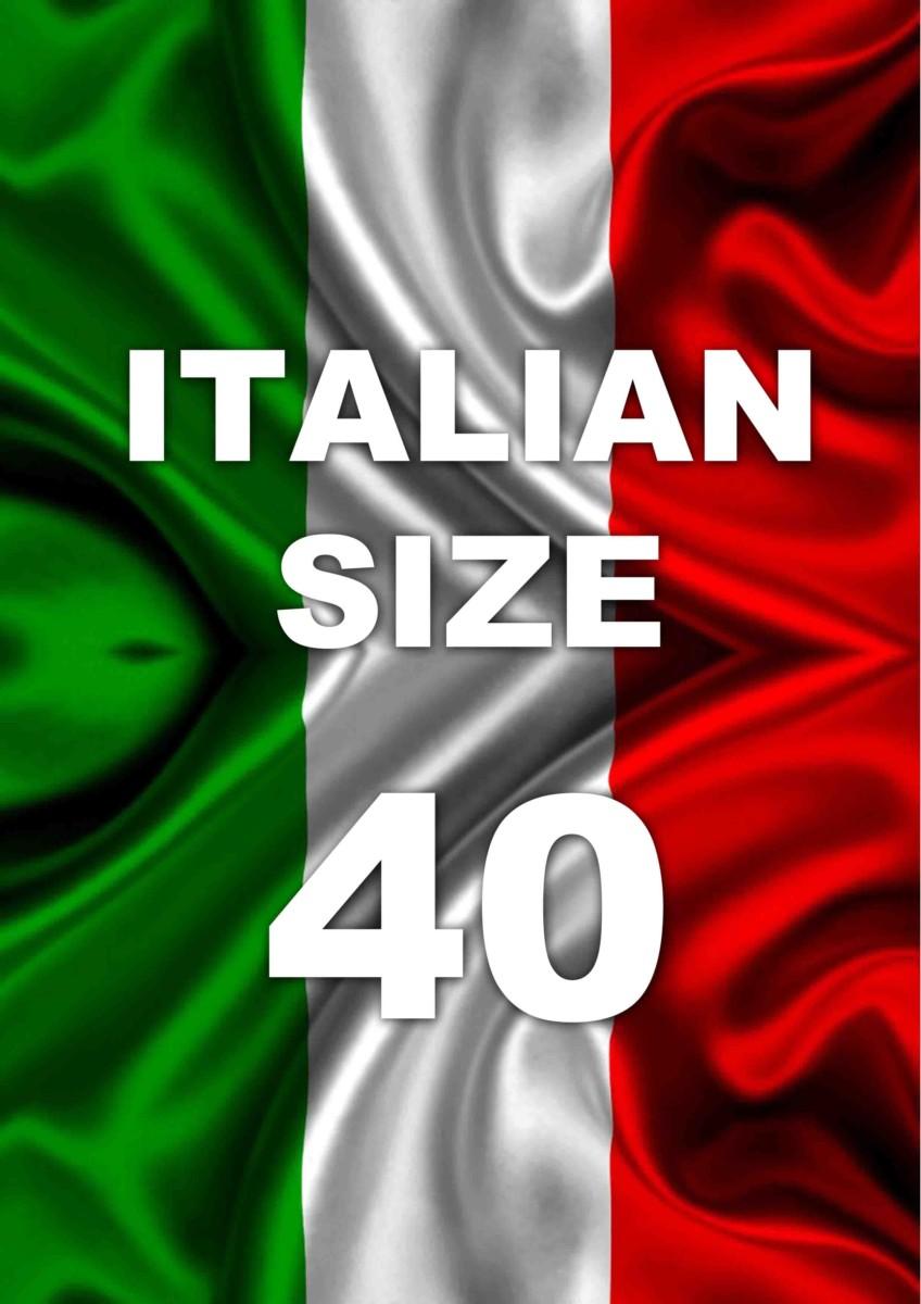Taglia 40 Italia